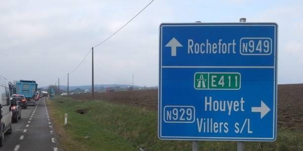 Rochefort: attention aux déviations dès ce mardi - La DH
