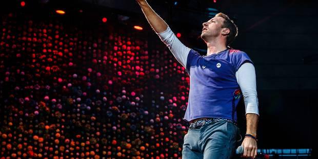 L'hommage vibrant de Coldplay au chanteur de Linkin Park - La DH