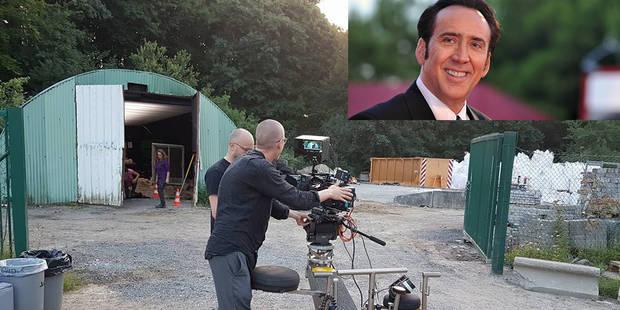 Nicolas Cage en tournage à Braine-le-Comte - La DH