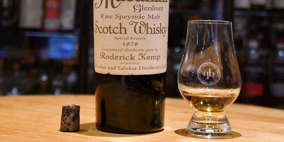 Presque 9000 euros pour déguster le whisky de James Bond !