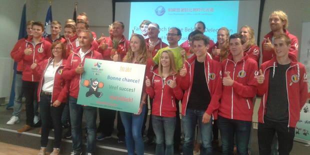 Universiade 2017: la délégation belge a fait connaissance avec Taipei - La DH