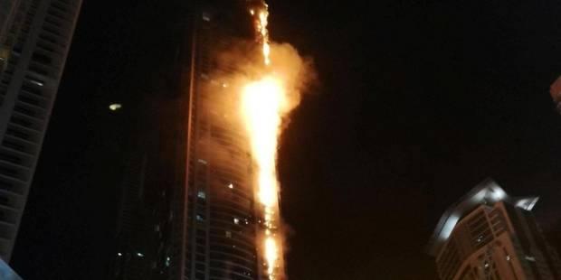 Un incendie ravage la Torch Tower de Dubaï (PHOTOS & VIDEO) - La DH