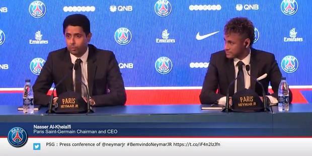Neymar débarque à Paris - La DH