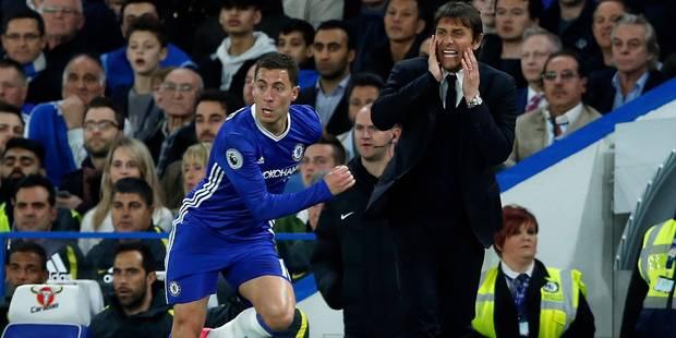 Conte ferme la porte au Barça pour Hazard - La DH