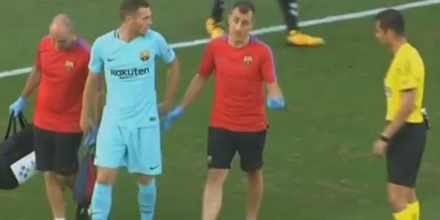 Suivi de près par Anderlecht, Vermaelen se blesse avec le Barça! - La DH