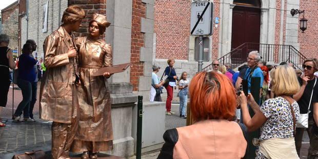 Statues en Marche : une première édition couronnée de succès (PHOTOS) - La DH