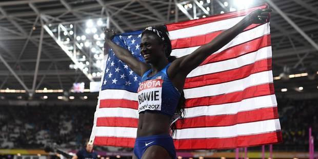 Mondiaux d'athlétisme: l'Américaine Tori Bowie sacrée sur 100 m, Thompson passe à côté - La DH