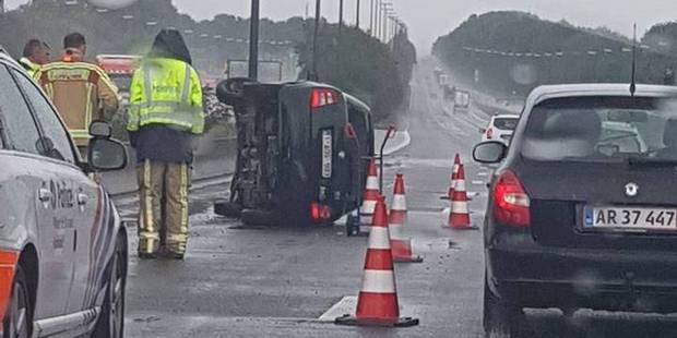 Deux accidents sur l'E42 à Obourg et à Houdeng - La DH