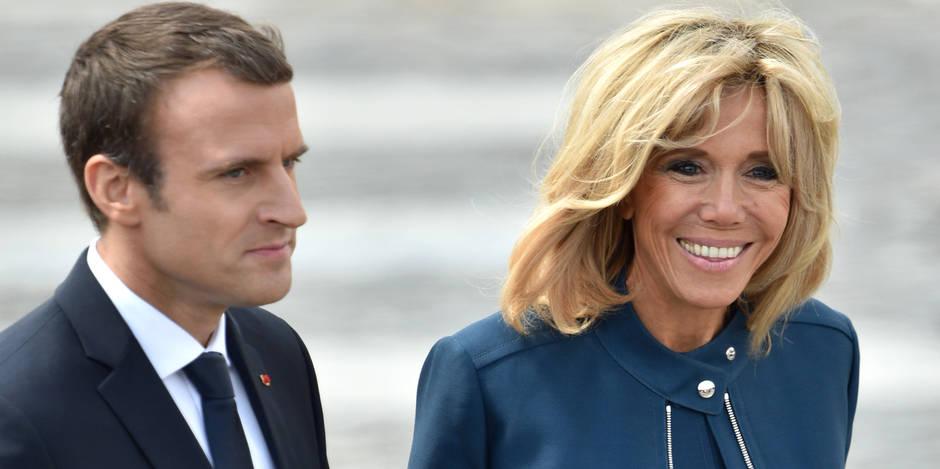 """Emmanuel Macron compatit à la vie """"difficile"""" des conjoints de ministres"""