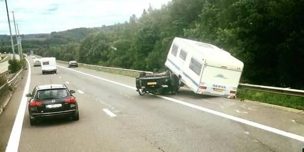 Encore un accident à hauteur de la Baraque Fraiture - La DH