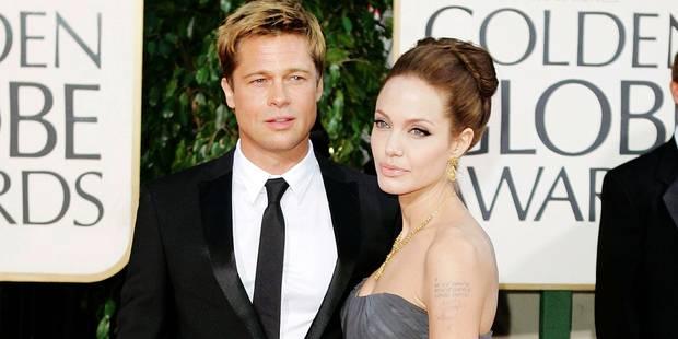 """Brad Pitt et Angelina Jolie: """"Le divorce est annulé"""" - La DH"""