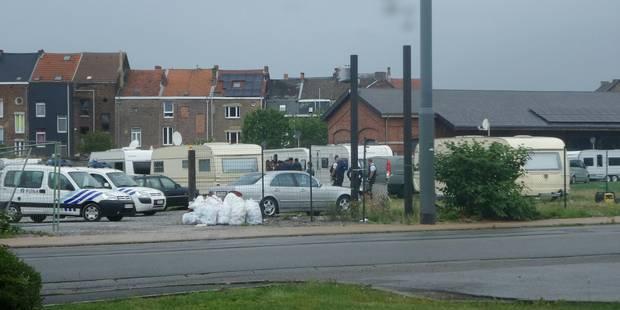 Charleroi: Opération de contrôle chez les gens du voyage - La DH