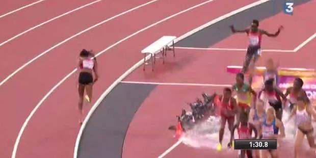 Incroyable aux Mondiaux d'athlétisme: elle se trompe de chemin en finale du 3000m steeple (VIDEO) - La DH