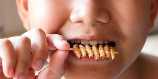Pourquoi faire manger des insectes aux enfants - La DH