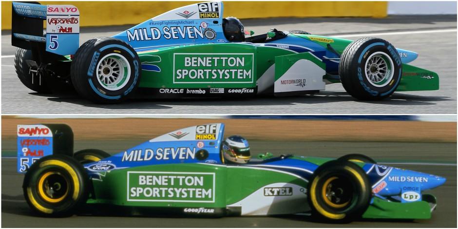 EXCLUSIF: Mick Schumacher pilotera en lever de rideau du GP de Belgique la voiture avec laquelle Schumi a remporté son 1er titre (PHOTOS)