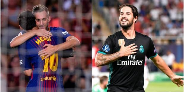 Supercoupe d'Espagne aller: le Real prend l'ascendant sur le Barça grâce à un but somptueux de Ronaldo (VIDEO) - La DH