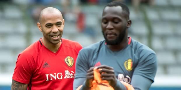 Malgré le doublé de Lukaku, Thierry Henry se montre partagé sur la prestation du Red Devil - La DH