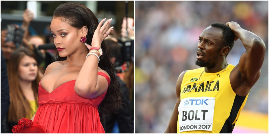Rien ne résistait à Usain Bolt... sauf Rihanna !