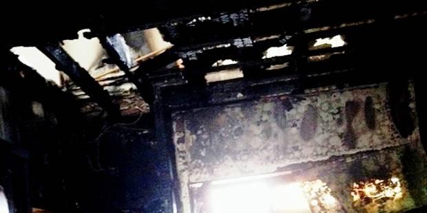 Nassogne : une maison détruite par la foudre - La DH