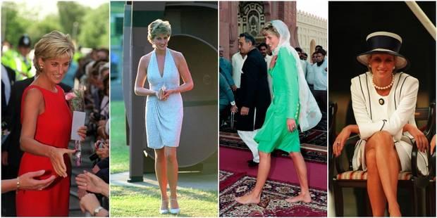Lady Di, une fashionista qui a chamboulé la garde-robe royale - La DH
