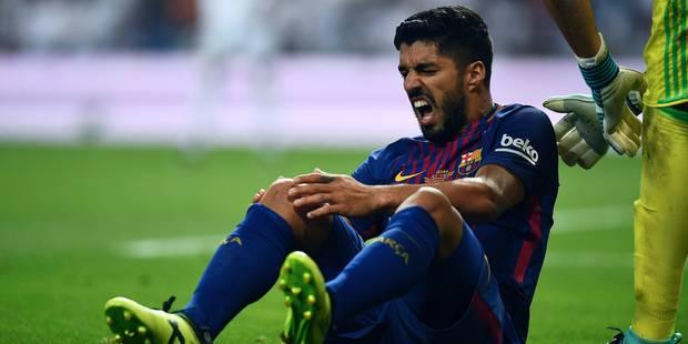 De la MSN à M: le Barça privé de Suarez pour un mois - La DH