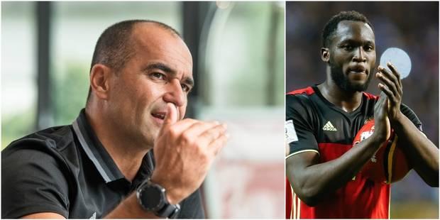 """Roberto Martinez: """"Lukaku peut faire grimper le football belge à un autre niveau"""" - La DH"""