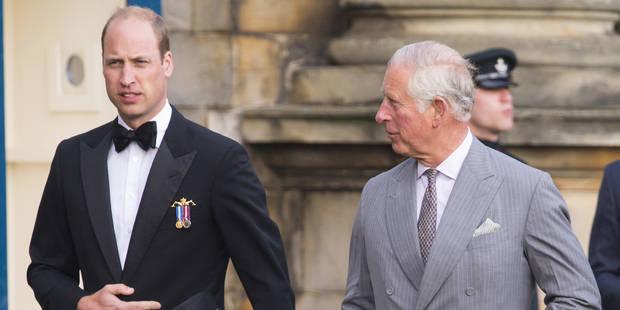 William et le prince Charles : une sortie entre hommes à Edimbourg et un whisky qui ne passe pas ! - La DH