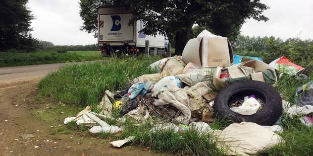 Des incivilités répétées en matière de déchets à Nivelles - La DH