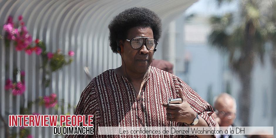 Denzel Washington, un homme comblé (ENTRETIEN) - La DH