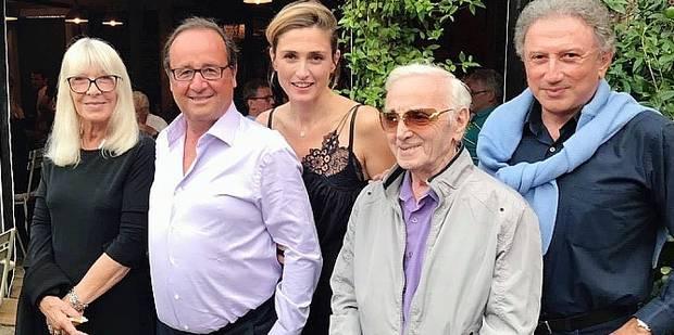 François Hollande et Julie Gayet en bonne compagnie - La DH