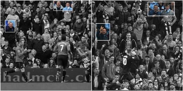 Quatre ans ont passé entre ces deux buts de Wayne Rooney, mais certaines choses n'ont pas changé - La DH