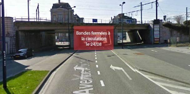 Attention: travaux à Salzinnes, Jambes et Namur centre - La DH