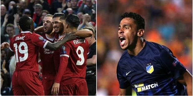 Barrages C1: Liverpool écrase Hoffenheim, Mignolet, Origi et... De Camargo et Pardo se qualifient pour la Ligue des Cham...