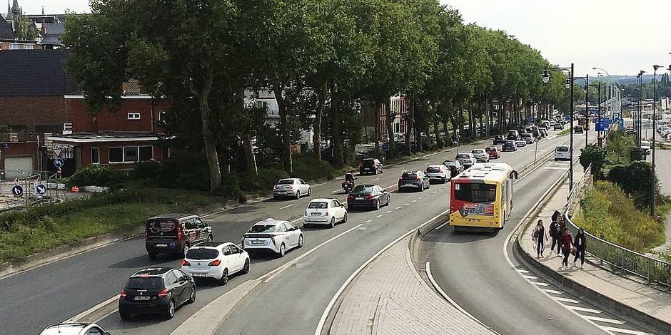 Mons: Cohue sur nos routes suite aux chantiers