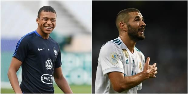 Deschamps sélectionne Mbappé, mais pas Dembélé ni Benzema - La DH