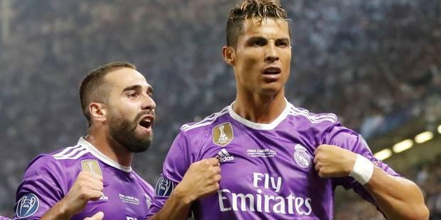 Cristiano Ronaldo élu joueur UEFA de la saison 2016-2017 - La DH