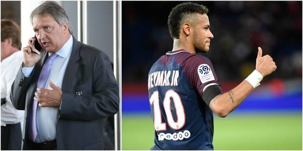 "Van Holsbeeck: ""Neymar, c'est cinq fois notre budget"" - La DH"
