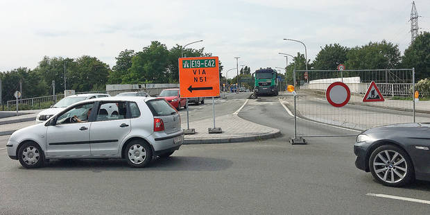 L'entrée d'autoroute à Mons est ouverte ce samedi - La DH