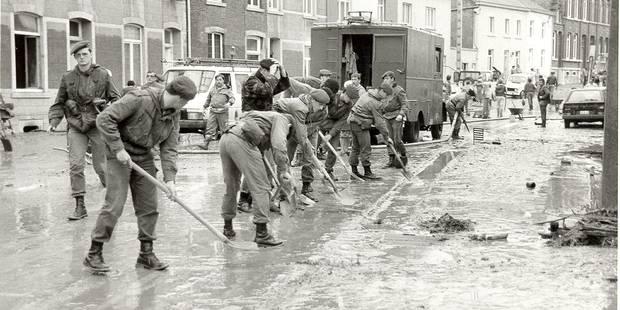 En 1987, Gerpinnes s'est retrouvée sous 2m50 d'eau - La DH