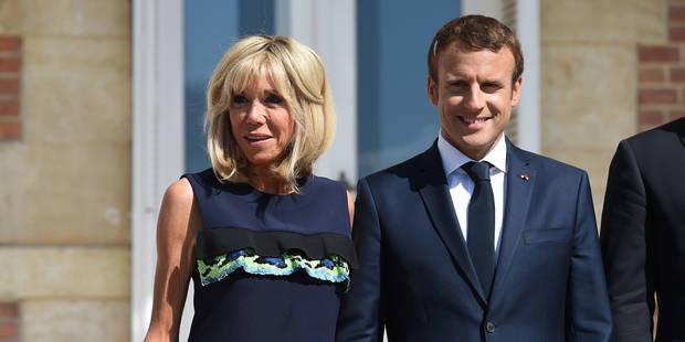 Emmanuel Macron adopte Nemo, un labrador noir croisé de griffon - La DH