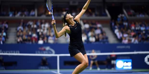 Acclamée par le public, Maria Sharapova fond en larmes (VIDEO) - La DH