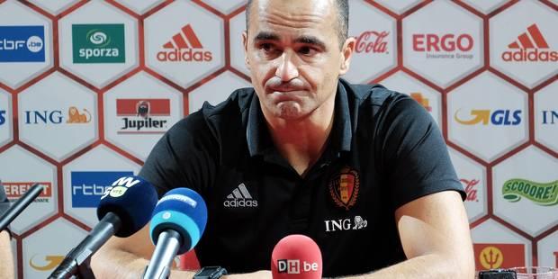 Roberto Martinez ne pense pas encore à la prolongation de son contrat (VIDEO) - La DH