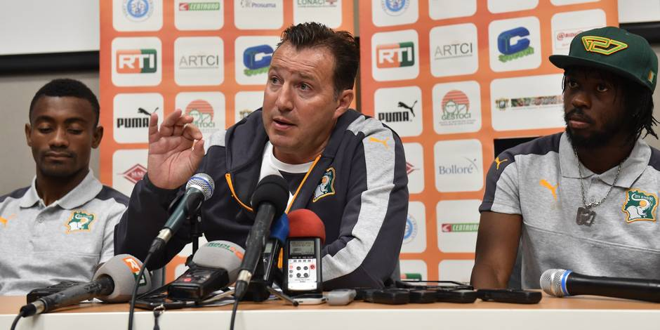 Qualifs Mondial 2018: Marc Wilmots (Côte d'Ivoire) en danger avant les deux matches contre le Gabon