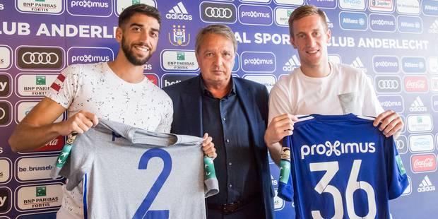 Anderlecht présente ses dernières recrues, Van Holsbeeck souhaite voir du beau jeu - La DH