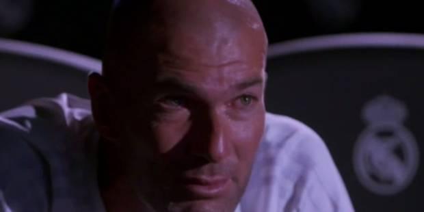 Zidane en larmes dans un reportage de Telefoot (VIDEO) - La DH