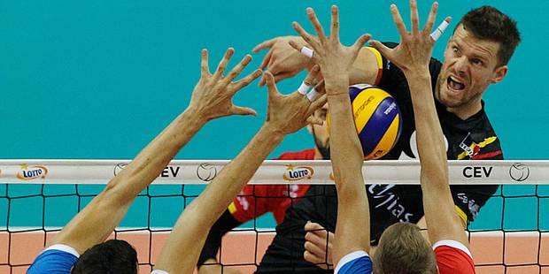 Euro de volley: battus sur le fil par les Serbes, les Red Dragons terminent 4e - La DH