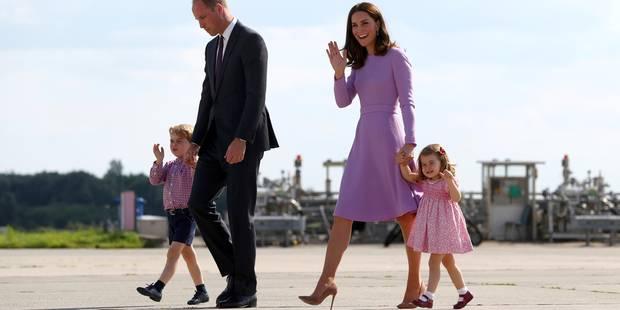 Le prince William et son épouse Kate attendent un troisième enfant - La DH