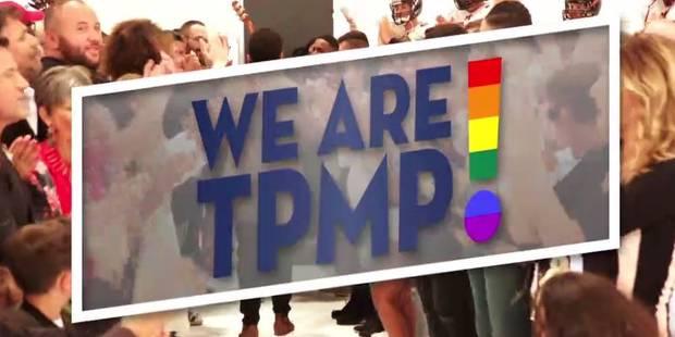 """Un logo très """"LGBT"""" et un générique bien-pensant: TPMP veut oublier les polémiques - La DH"""
