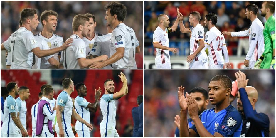 Qualifs Mondial 2018: le point sur la zone Europe
