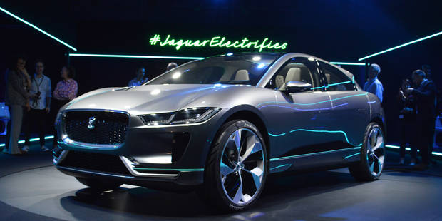 Jaguar-Land Rover mise tout sur l'électrique - La DH